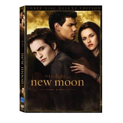 Продажи DVD «Новолуния» превысили продажи DVD «Сумерек»