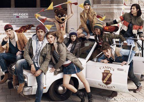 Рекламная кампания Hilfiger Denim Осень / Зима 2014