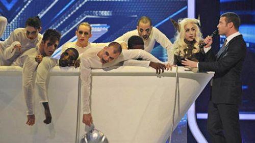 Выступление Lady GaGa на передаче «The X Factor»