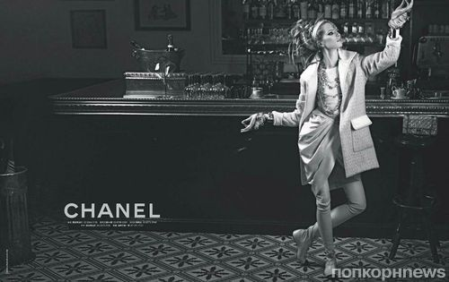 Первый взгляд на новую рекламную кампанию Chanel. Осень / зима 2012-2013
