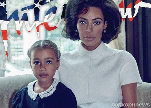 Ким Кардашьян примерила образ Джеки Кеннеди в новой фотосессии