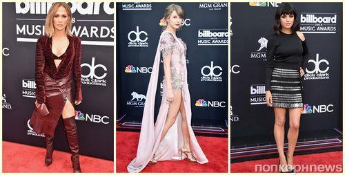 Фото: Тейлор Свифт, Дженнифер Лопес, Мила Кунис и другие на красной дорожке премии Billboard Music Awards 2018