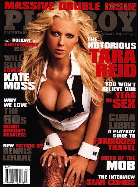 Тара Рид на обложке журнала Playboy