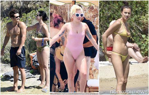 Стоп-кадр: Кэти Перри, Орландо Блум, Леди Гага, Люси Хейл и другие