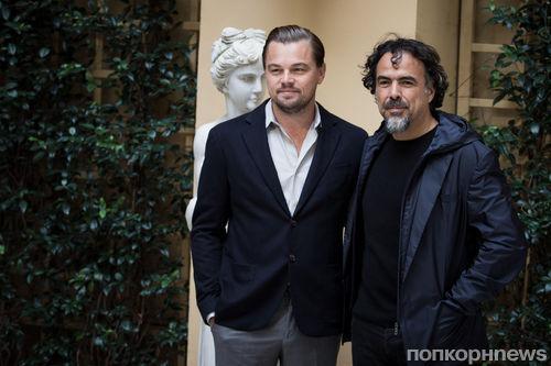 Леонардо Ди Каприо поцеловал фанатку на премьере фильма «Выживший» в Риме