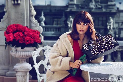 Пенелопа Крус в новой рекламной кампании Loewe. Осень / зима 2013-2014: первый взгляд