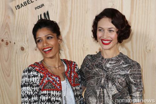 Звезды на вечеринке H&M в Париже