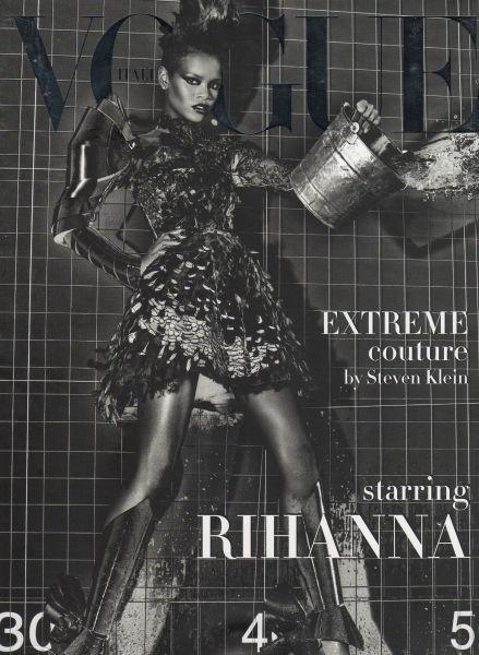 Рианна в журнале Vogue Италия. Сентябрь 2009