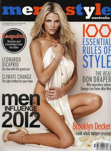 Бруклин Декер в журнале Men's Style Австралия. Весна / лето 2012