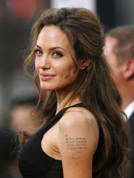 Анджелина Джоли - пример для подражания?