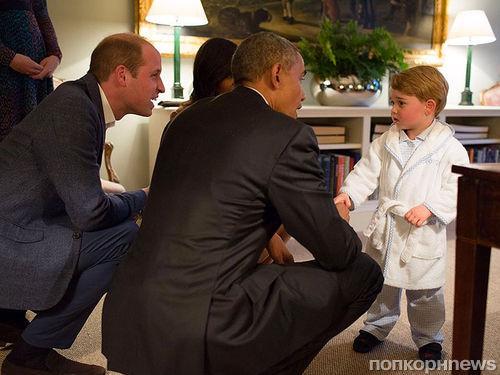 Супруги Обама побывали дома у Кейт Миддлтон и принца Уильяма