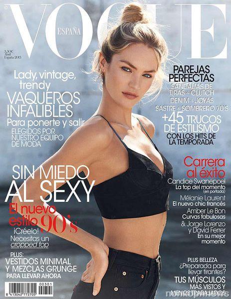 Кэндис Свейнпол в журнале Vogue Испания. Апрель 2013