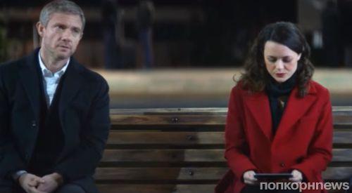 Звезда «Шерлока» Мартин Фриман снялся в серии романтических рождественских рекламных роликов Vodafone