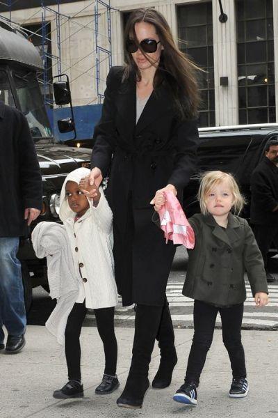 У Шайло Джоли-Питт есть вымышленный друг