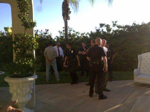 Арестован грабитель, пытавшийся влезть к Пэрис Хилтон