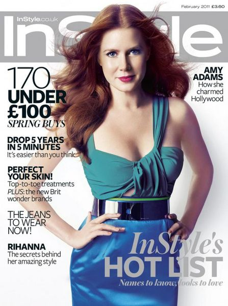 Эми Адамс в журнале InStyle. Февраль 2011