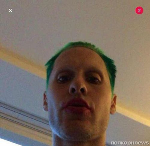 Джаред Лето показал новое фото в роли Джокера
