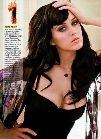 """Кэти Перри возглавила """" Maxim Hot Top 100"""""""