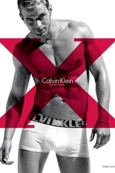 Келлан Латс в рекламе нижнего белья Calvin Klein Весна/Лето 2010