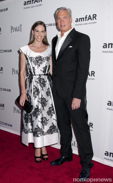 Звезды на вечере amfAR Inspiration Gala