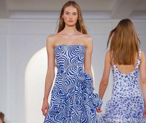 Модный показ новой коллекции Ralph Lauren. Весна / лето 2016