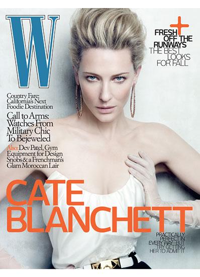 Кейт Бланшетт в журнале W. Июнь 2010