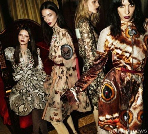 Кендалл Дженнер в рекламном ролике Givenchy