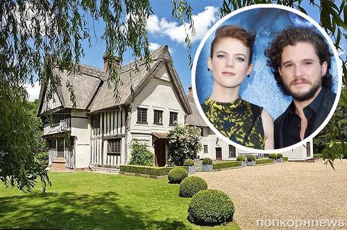 Кит Харингтон и Роуз Лесли обзавелись совместной недвижимостью за 2,2 млн долларов