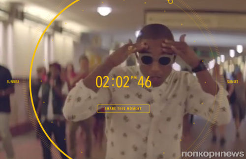 Фаррелл Уильямс снял самое длинное музыкальное видео на песню Happy