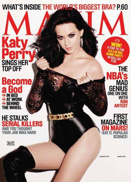 Кэти Перри в журнале Maxim. Январь 2011