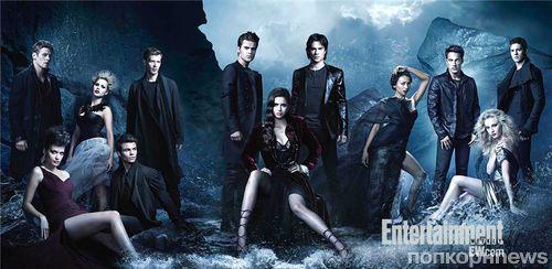 Промо-постеры 4 сезона сериала «Дневники вампира»
