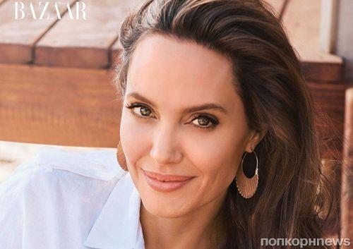 Анджелина Джоли украсила обложку нового номера Harper's Bazaar