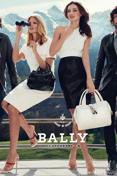 Миранда Керр для рекламной кампании Весна / Лето 2012  Bally