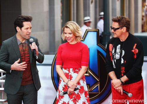 Фото: звезды «Мстителей: Финал» отпраздновали старт пресс-тура в Диснейленде
