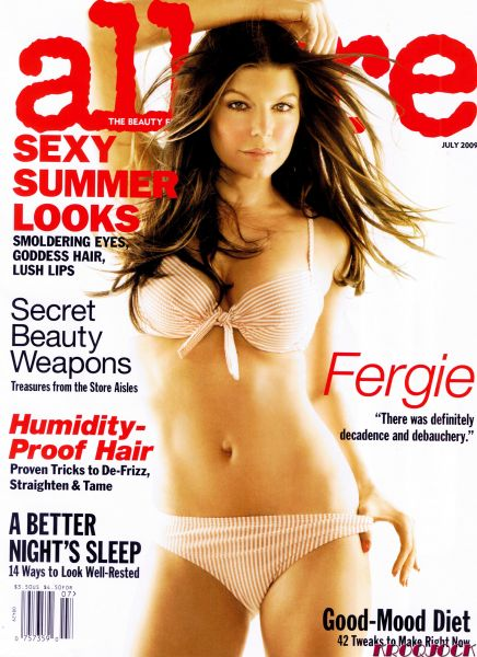 Ферги в журнале Allure. Июль 2009