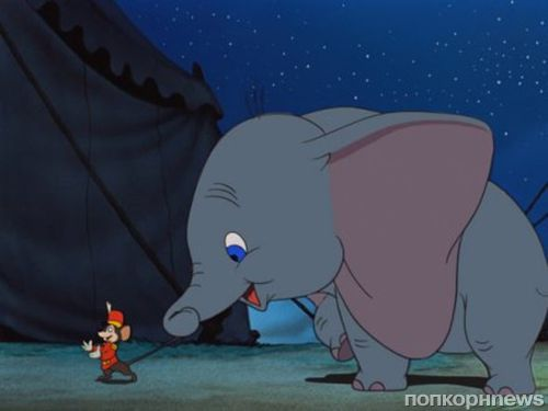 Тим Бертон снимет ремейк «Дамбо» для студии Disney