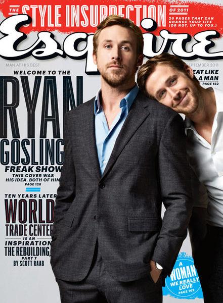 Райан Гослинг в журнале Esquire. Сентябрь 2011
