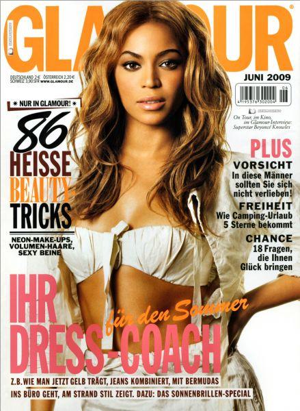 Бейонсе Ноулз в журнале Glamour Германия. Июнь 2009