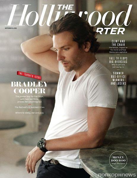 Брэдли Купер в журнале The Hollywood Reporter. Октябрь 2012