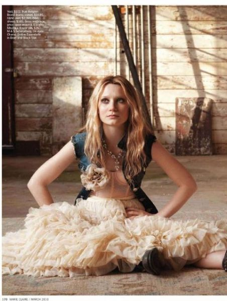 ��� ���������� � ������� Marie Claire US. ���� 2010