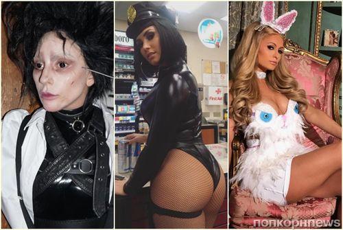 Цирк уехал, а клоуны остались: голосуем за лучший костюм звезды на Хэллоуин 2017