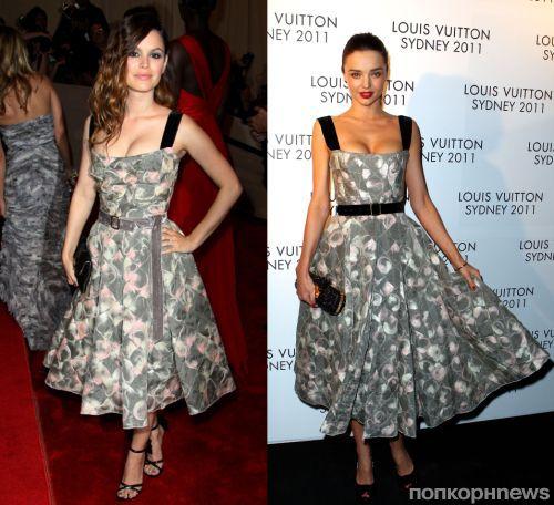 Fashion battle: Рэйчел Билсон и Миранда Керр