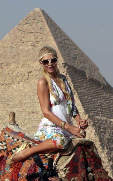 Пэрис Хилтон в Египте