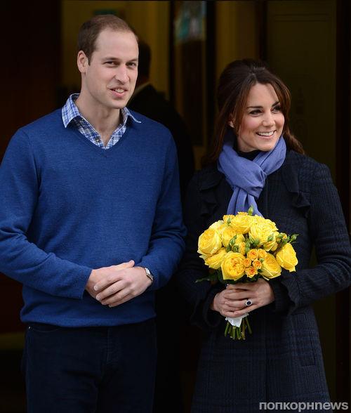 Кейт Миддлтон и принц Уильям станут родителями летом