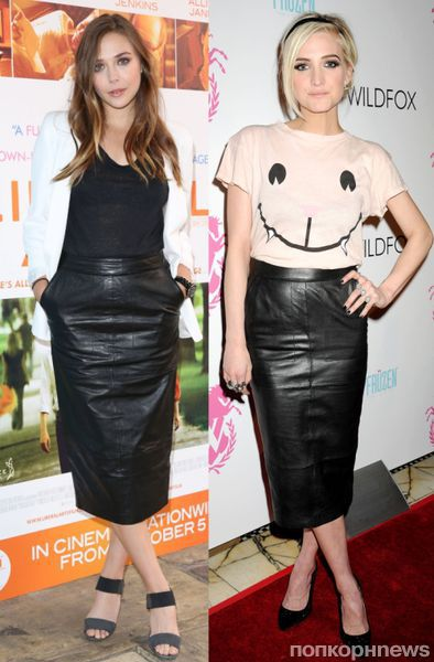 Fashion battle: Элизабет Олсен и Эшли Симпсон