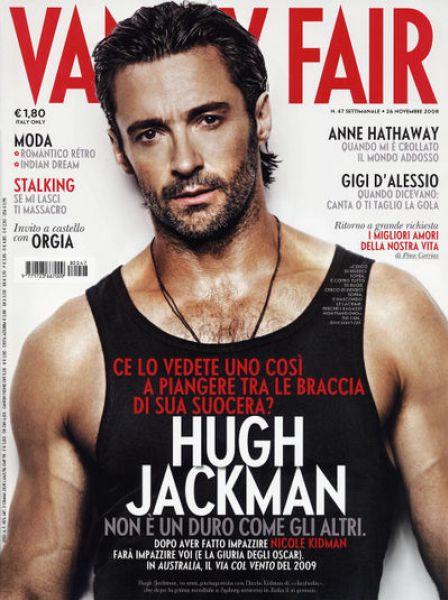 Хью Джекман в журнале Vanity Fair. Италия. Ноябрь 2008
