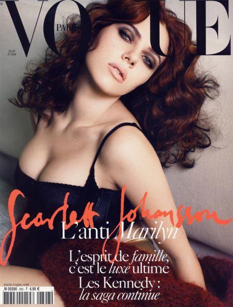 Скарлетт Йоханссон  в журнале Vogue. Франция. Апрель 2009