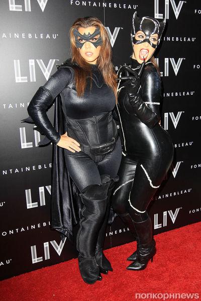 Вечеринка Ким Кардашиан в честь Хэллоуина
