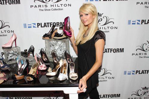 Пэрис Хилтон представила свою новую коллекцию обуви