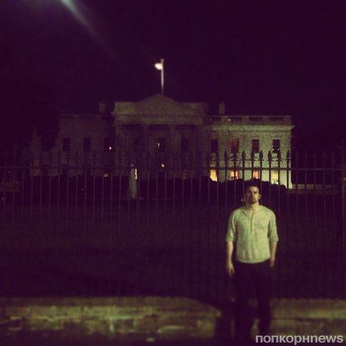 Прогулка Ченнинга Татума по Вашингтону